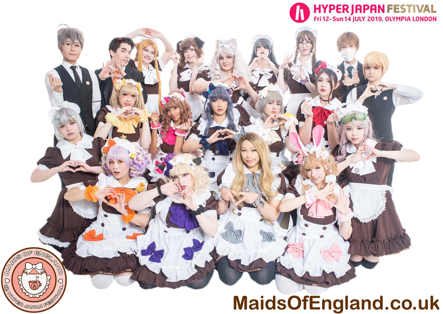 Maids Of England at HYPER JAPAN Festival