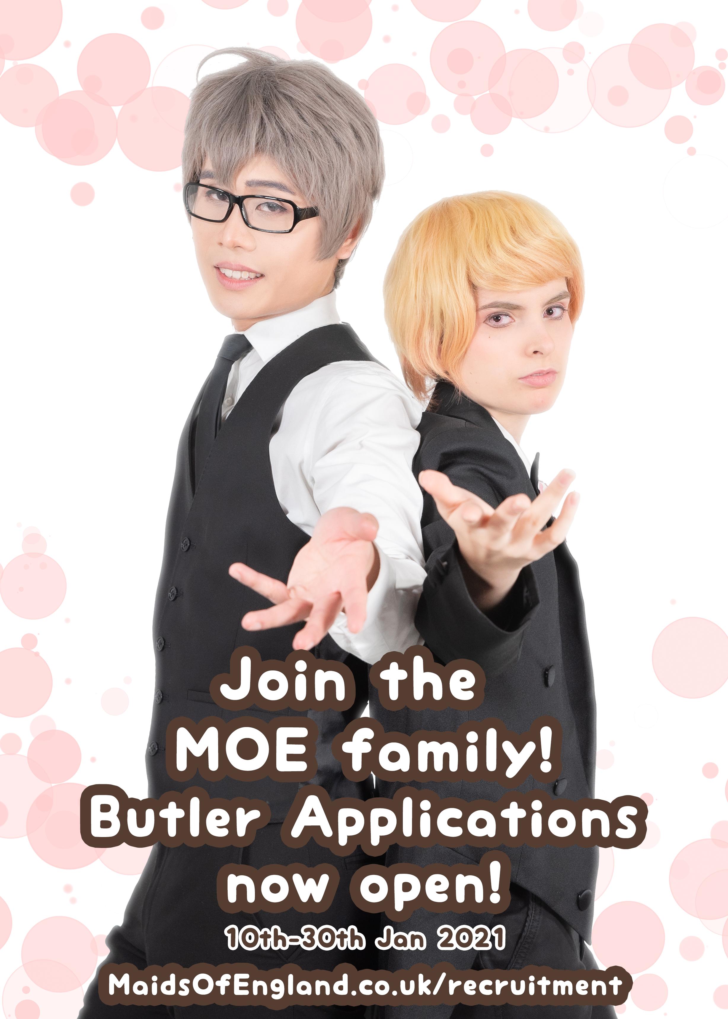 MOE 2021 Butler Recruitment